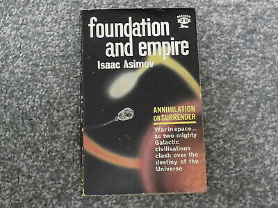 Isaac Asimov Foundation And Empire 1962 Panther Book Paperback Science Fiction