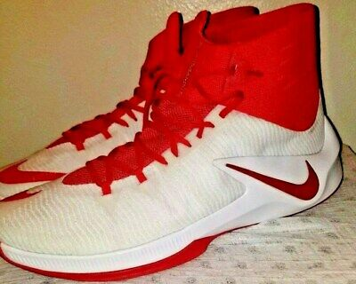 01126b4e01d8 NIKE ZOOM CLEAR Out Basketball Shoe Red Men s US Size 18 856486-663 ...