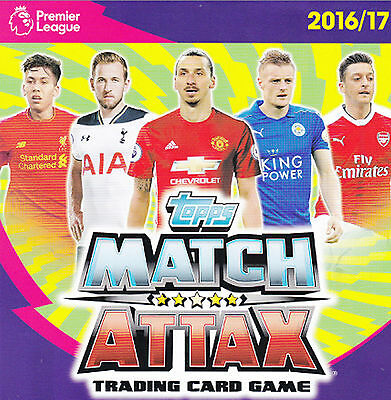 Match Attax 2016 2017 Cards Limited Edition / 100 Club / Legend / Hundred 16 17