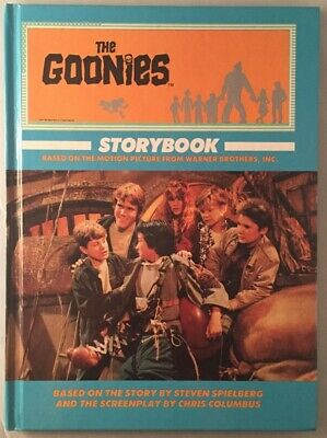 Steven SPIELBERG / Goonies Storybook High Gloss First Trade Edition 1st ed 1985