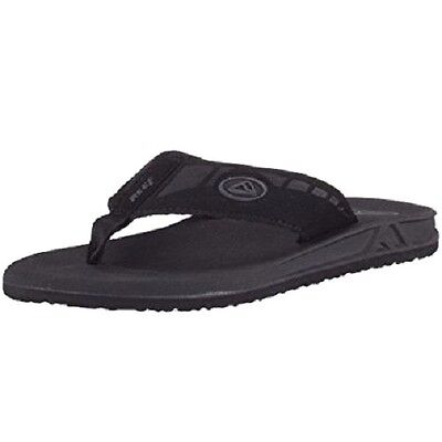 Reef PHANTOMS Black Grey Ridiculously Comfortable 2476 Sandals Men's Flip Flops