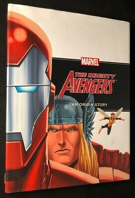 Rich THOMAS / The Mighty Avengers An Origin Story First Edition 2012