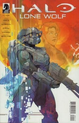 Halo Lone Wolf #1 Dark Horse Comic 1st Print 2019 COVER A