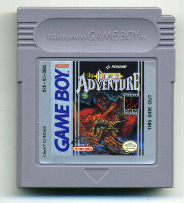 The Castlevania Adventure Nintendo Game Boy Very Nice FREE SHIPPING Adult Owned
