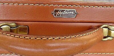 Antique mid-20th century Hartmann Leather Briefcase: ready for use or display