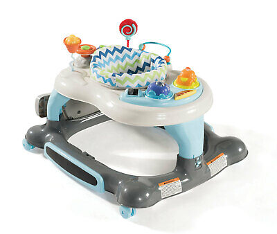 Baby Activity Walker Toddler Rocker with Jumping Board Kids Interactive Fun Play