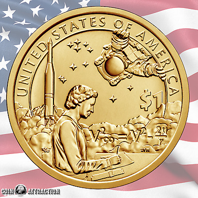 2019 D Sacagawea Native American - Space Program $1 Coin (Uncirculated)