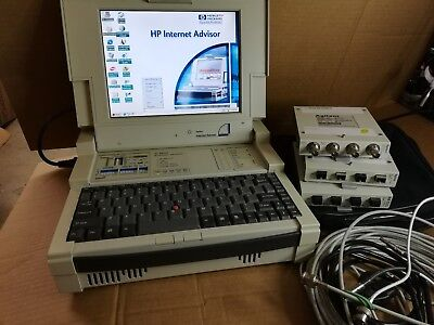 Agilent J2300D WAN Internet Advisor Protocol Analyzer with Modules, Cables
