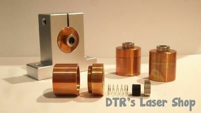 25mm DTR Copper Laser Diode Mount Blank Modules For 9mm Laser Diodes  DTR-CLM-25
