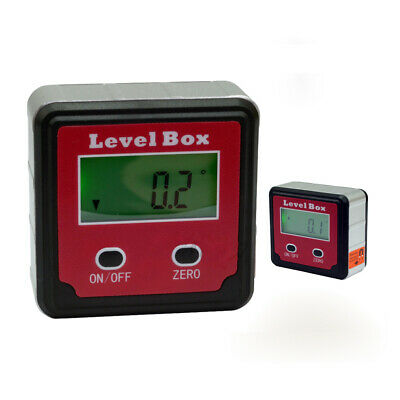 Digital Protractor Inclinometer Level Box Angle Finder Bevel Box Magnetic Angle