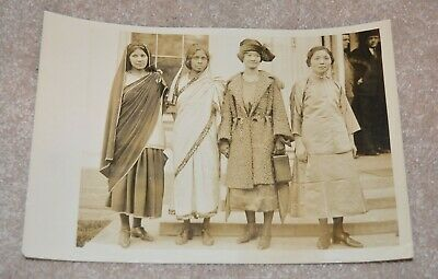 1922 Original Photo Missionaries India Manila China 7X10 Inches Awesome Historic