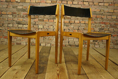 1960s Vintage Dining Room Chair Designer Wood Desk Stacking Chair 1/10