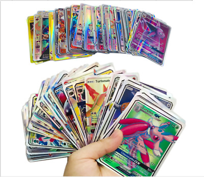 NO REPEAT 60pcs 30 MEGA + 30 GX Cards Pokemon Card Holo Flash Trading GX Cards