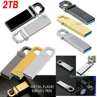 USB 2TB Flash Drives Memory Metal Flash Drives Pen Drive U Disk For PC Laptop UK