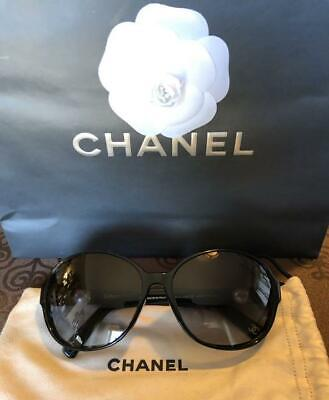 3811c7f5a9f CHANEL SUNGLASSES WITH Pearl Navy Color -  320.00