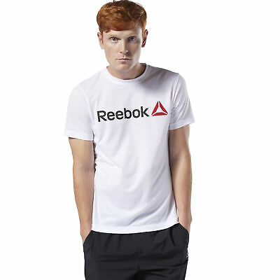 Reebok Men's Linear Read Tee