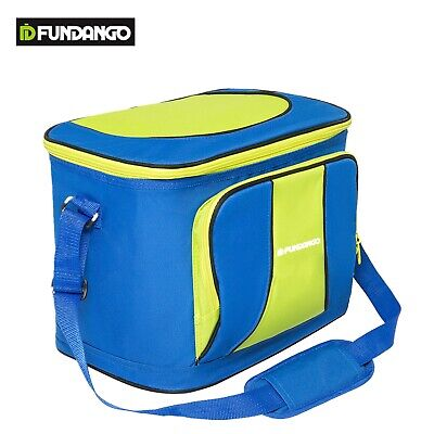 Thermos Insulated Cooler Tote Bag Picnic Camping Food Drink Cooling Storage Box
