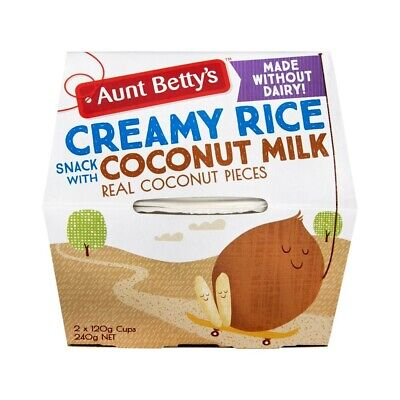 Aunt Betty's Creamy Rice Snack With Coconut Milk 240g