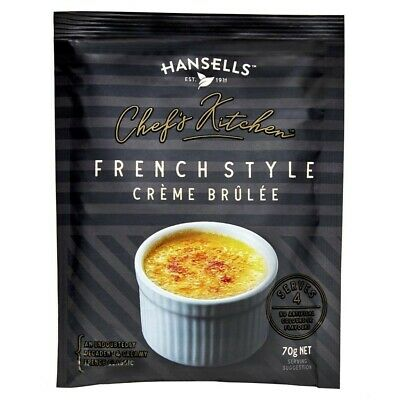 Hansells Chef's Kitchen French Style Creme Brulee 70 gram