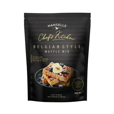 Hansells Chef's Kitchen Belgian Style Waffle Mix 200g
