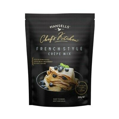 Hansells Chef's Kitchen French Style Crepe Mix 200g