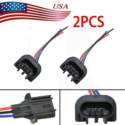 Enjoyable 2X 9008 H13 Male Headlight Repair Wiring Socket Extension Harness Wiring Digital Resources Xeirawoestevosnl