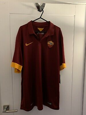 684daae85b6 NIKE AS ROMA Home Mini Kit 2018 2019 Infants Red/Gold Football ...