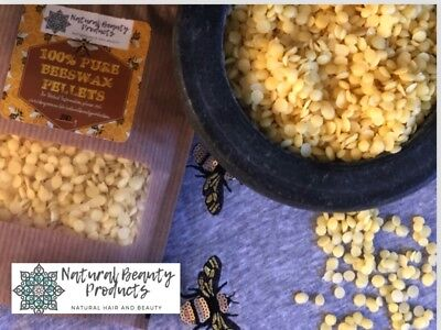 100% Pure Beeswax Pellets Beads Cosmetics Candle Bees Wax Australian Seller!