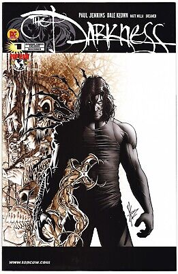 The Darkness #1 - Dynamic Forces Variant - Ltd To 2500 W/cert - Top Cow 2002