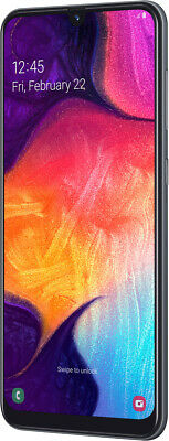 Samsung A505F Galaxy A50, 128 GB + 4GB RAM, Black, Triple-Kamera, BRANDNEU