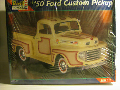 Revell 1950 Ford Custom Pickup  Factory Sealed 1/25 scale build it your ways