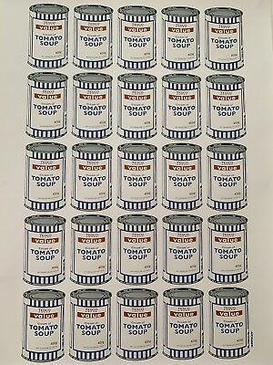 Banksy Tesco Value Tomato Soup Cans, 2010, Original Lithograph Ltd Edition Pow