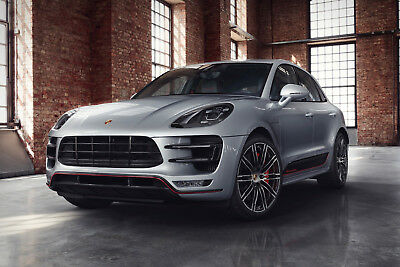 Porche Macan Turbo Style Front Bumper Body Kit 2014>