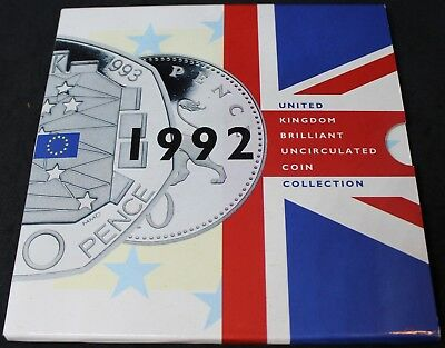 1992 | United Kingdom Brilliant Uncirculated Coin Collection | KM Coins