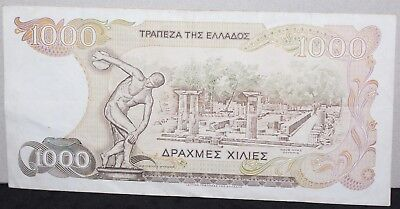 1987   Greece 1000 Drachme Bank Note   Bank Notes   KM Coins