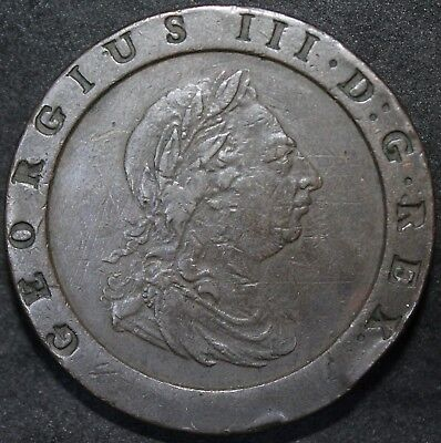1797 | George III Cartwheel Twopence | Coins | KM Coins