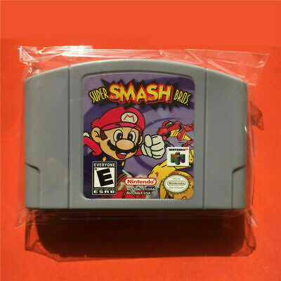 Super Smash Bros. Games Card for Nintendo 64 N64 US Version Next Day Shipping