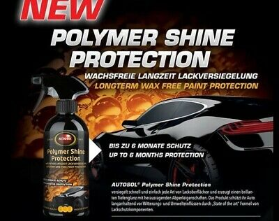 AUTOSOL Polymer Shine Protection 500ml NEUHEIT! (29,90 EUR/L)