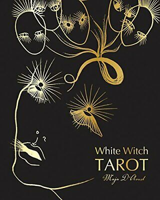 White Witch Tarot by D'Aoust  New 9780764353673 Fast Free Shipping..