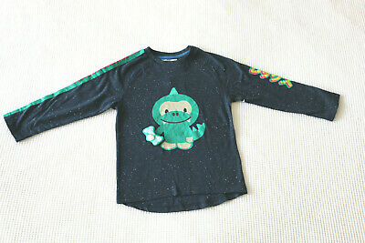 Next Boys Navy Long Sleeve Top Age 3-4 Years BNWT