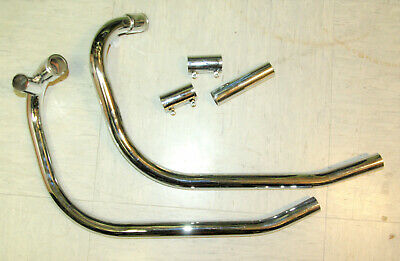 Norton Commando Krümmer Mk3 Mk2A exhaust pipes 06-3397/8 06-3997 06-3998 06.3997