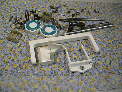 Janome 108 Limited Edition Sewing Machine Needle Clamp Spool Holder Knob Foot