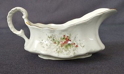 Antique Homer Laughlin China AN AMERICAN BEAUTY - Graveyboat - Holly Berries