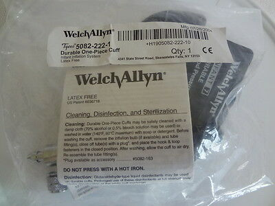 Welch Allyn BP Cuff & Inflation System - Infant (Size 7) #5082-222-1 NEW/SEALED