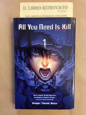 3-M ALL YOU NEED IS KILL N.1 Ed. - Planet Manga. Takeshi Obata