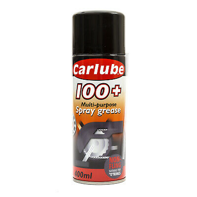 Carlube 100+ Uses Multi Purpose Spray Grease 400ml Can For Cars