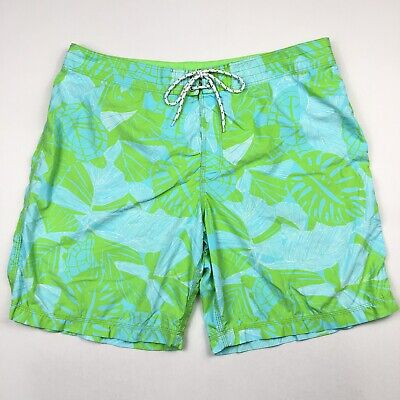 b280c17c0017c Vintage Lilly Pulitzer Men's Swim Trunks Board Shorts Turtles Trees • Size  40