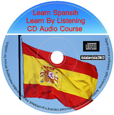 Learn To Speak Spanish By Listening Language Course For Beginners Audio CD Disc