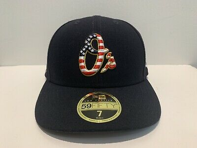 9acda7a90f89f NWT Balt Orioles New Era 2018 Stars Stripes 4th of July 59FIFTY Fitted Hat-7