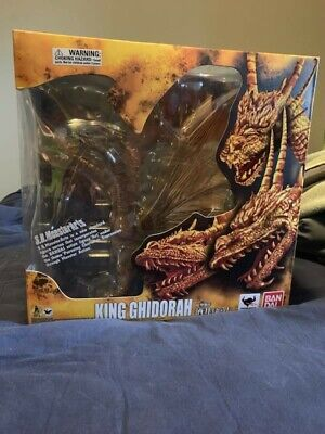 S. H. Monster Arts King Ghidorah (Original Release) In Box NEVER OPENED!